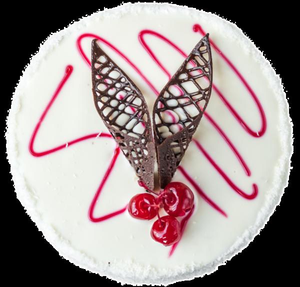 Торт «Зимова вишня»